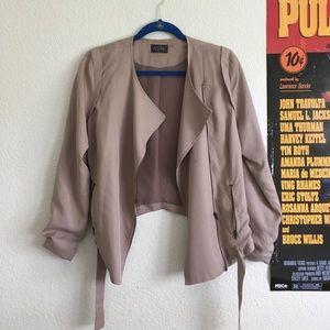 ASTR mauve jacket